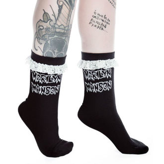 socks KILLSTAR - MARILYN MANSON - Snake Eyes - Black, KILLSTAR, Marilyn Manson