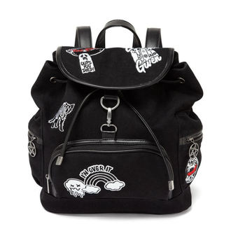 Backpack KILLSTAR - Spektra 90's - BLACK, KILLSTAR
