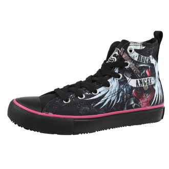 high sneakers women's - ROCK ANGEL - SPIRAL, SPIRAL