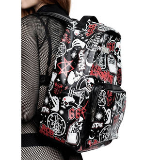 Backpack KILLSTAR - Rob Zombie - Spookshow - BLACK, KILLSTAR, Rob Zombie