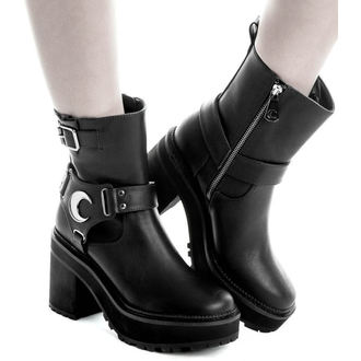 wedge boots women's - STARLIGHT BIKER - KILLSTAR