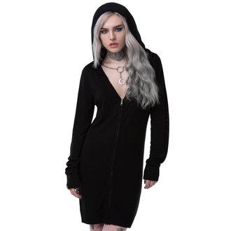 Women's Sweater (Cardigan) KILLSTAR - STELLA LUNA - BLACK, KILLSTAR