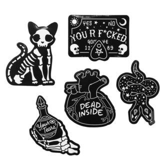 Stickers (set) KILLSTAR - Stick It Sticker - BLACK, KILLSTAR