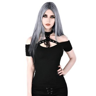 t-shirt women's - Sundown Halter - KILLSTAR - KSRA000256