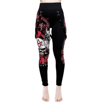 Women's pants (leggings) KILLSTAR - Rob Zombie - Superbeast - BLACK, KILLSTAR, Rob Zombie