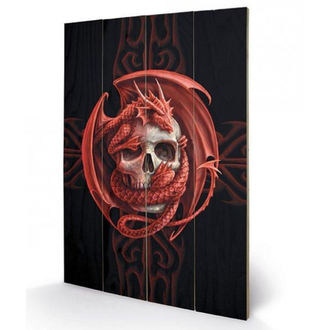 Wooden painting ANNE STOKES - (&&string0&&), ANNE STOKES