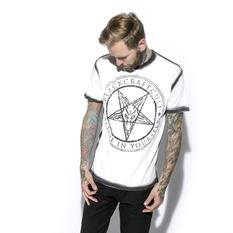 t-shirt men's - Satanic Seam - BLACK CRAFT