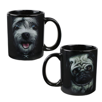 Set of mugs SPIRAL - PUG LIFE, SPIRAL