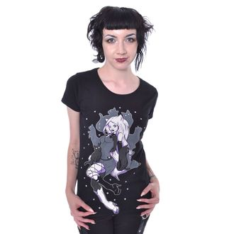 t-shirt women's - SHADOW CAT - CUPCAKE CULT, CUPCAKE CULT