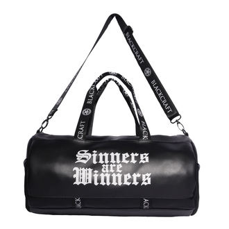 Gym bag BLACK CRAFT - Sinners Are Winners, BLACK CRAFT