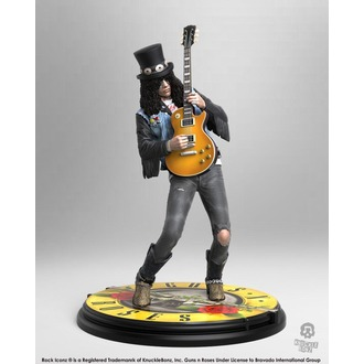 Figure Guns N' Roses - Slash - Rock Iconz - KNUCKLEBONZ, KNUCKLEBONZ, Guns N' Roses