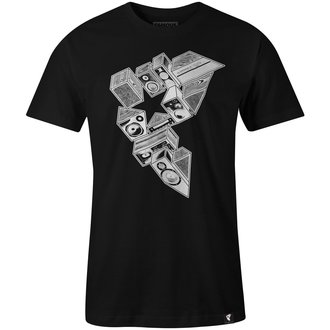 t-shirt street men's - STEREO STACKS - FAMOUS STARS & STRAPS, FAMOUS STARS & STRAPS