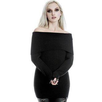 Women's sweater KILLSTAR - Tabitha - BLACK, KILLSTAR