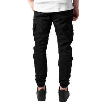 pants men URBAN CLASSICS - Cargo Jogging - TB1268-black