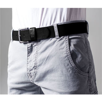 belt URBAN CLASSICS - Leather lmitation - TB1288-black