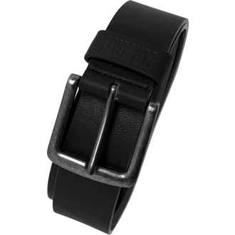 belt URBAN CLASSICS - Leather lmitation - TB1288-black