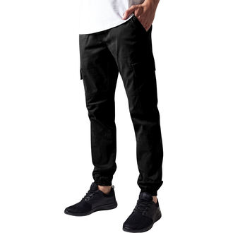 men's trousers URBAN CLASSICS - Washed Cargo Twil, URBAN CLASSICS