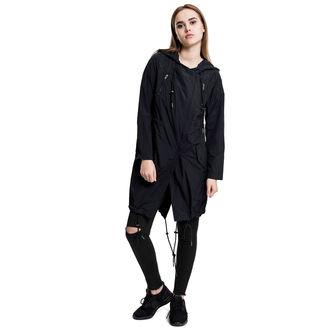 spring/fall jacket women's - Asymetric Parka - URBAN CLASSICS, URBAN CLASSICS