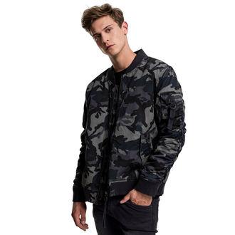 spring/fall jacket - Vintage camo - URBAN CLASSICS, URBAN CLASSICS
