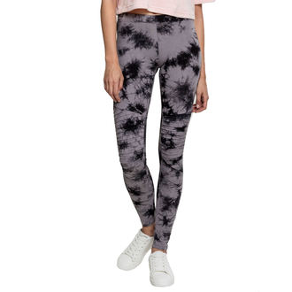 Women's pants (leggings) URBAN CLASSICS - Biker Batik - grey / black, URBAN CLASSICS