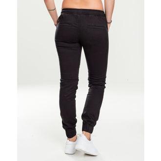Women's pants URBAN CLASSICS - Biker Jogging - black, URBAN CLASSICS