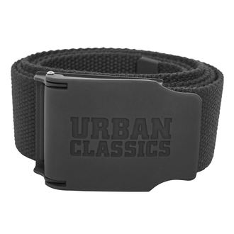Belt URBAN CLASSICS - Woven - Rubbered Touch UC, URBAN CLASSICS