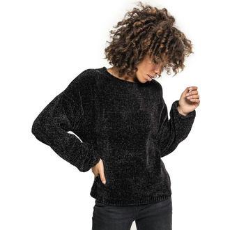 Women's sweater URBAN CLASSICS - Chenille - black, URBAN CLASSICS
