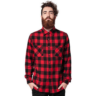 men´s shirt URBAN CLASSICS - Checked Flanell