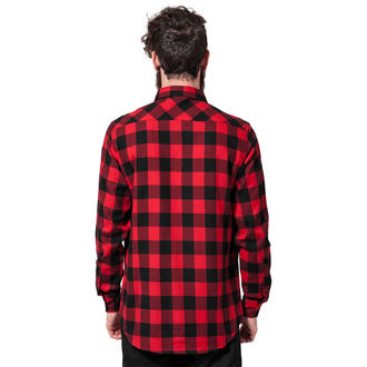 men´s shirt URBAN CLASSICS - Checked Flanell, URBAN CLASSICS