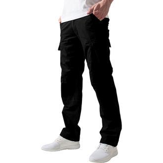 Men's trousers URBAN CLASSICS - Camouflage Cargo - TB630_black