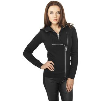 Women's hoodie URBAN CLASSICS - Biker, URBAN CLASSICS