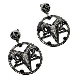Earrings KILLSTAR - Templar - SILVER, KILLSTAR