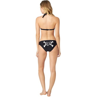 Bikini Women's FOX - Throttle Maniac - Halter - Black, FOX