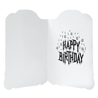 Greeting Card KILLSTAR - TOMBSTONE - BLACK, KILLSTAR