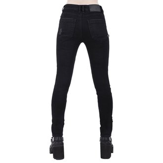 Women's trousers KILLSTAR - Trash Talk Jeans - BLACK, KILLSTAR