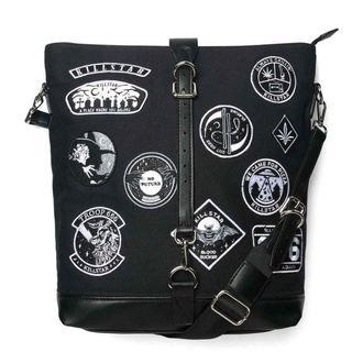 Handbag KILLSTAR - Trooper - Black, KILLSTAR