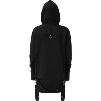 hoodie men's - TWISTED - KILLSTAR