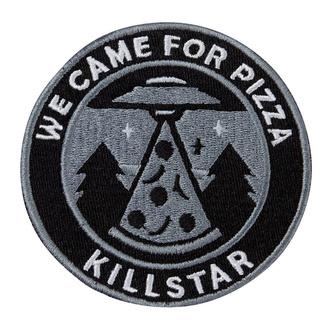 Iron-on patch (patch)  KILLSTAR - UFO - BLACK - K-PTH-U-2984