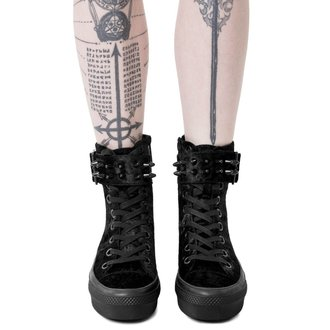 wedge boots women's - UNHOLY HIGH TOPS - KILLSTAR, KILLSTAR