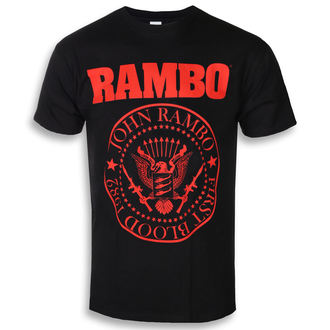 film t-shirt men's Rambo - FIRST BLOOD 1982 - PLASTIC HEAD, PLASTIC HEAD