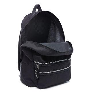 Backpack VANS - WM SPORTY REALM II B - Black / White, VANS