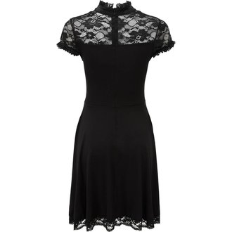 Women's Dress KILLSTAR - VALERIAN - BLACK, KILLSTAR