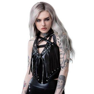 Women's corset KILLSTAR - VALHALLA - BLACK, KILLSTAR