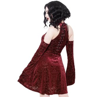 Women's dress KILLSTAR - Vela - WINE, KILLSTAR