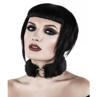 Choker KILLSTAR - Venus Fur Choker - Black, KILLSTAR