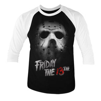 film t-shirt men's Friday 13th - White - HYBRIS, HYBRIS, Friday 13th