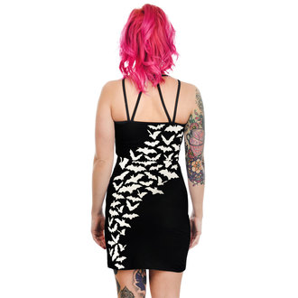 Dress Women's TOO FAST - PENTAGRAM - FLYING BATS, TOO FAST