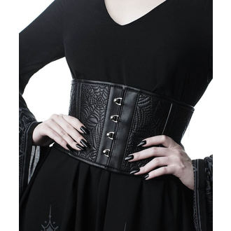 Belt (corset) KILLSTAR - Webutant Waist Cincher - BLACK, KILLSTAR