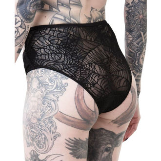 Women's Panties KILLSTAR - WEEPING WIDOW - BLACK, KILLSTAR
