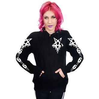 hoodie women's - DRIPPY 666 & PENTAGRAM - TOO FAST, TOO FAST